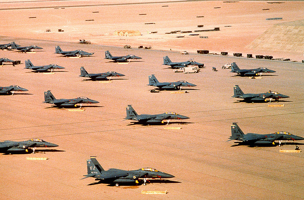 1024px-Multiple_F-15E_parked_during_Operation_Desert_Shield