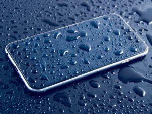 mokry telefon