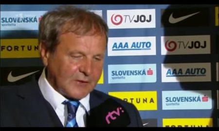 Tréner Kozák po otázke vybuchol. Odniesol si to moderátor RTVS