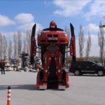 Tureckí inžinieri dokázali prerobiť BMW na skutočného funkčného transformera
