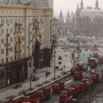 Nová 8-prúdová cesta za jeden deň? Žiaden problém, povedala si Moskva a vyslala 300 vozidiel