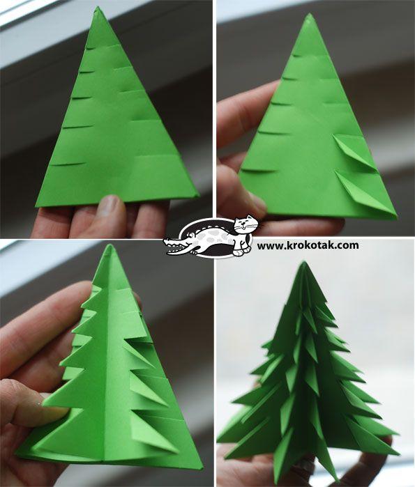 Pinterest vianoce z papiera