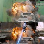 30+ filmových scén pred a po použití špeciálnych efektov. Takto sa natáčal okrem iného aj Avengers