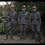 Kolorované historické fotografie vojakov z 1. svetovej vojny