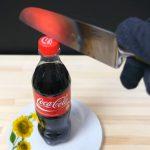 Nôž zahriaty na 1000 °C  vs. Coca Cola