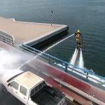 Vznášajúci sa hasiči v Dubaji sú realitou!