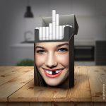 Si fajčiar? Nenechaj si ujsť túto jednoduchú, ale skvelú kampaň, ktorá dôvtipne upozorňuje na zdravotné riziká fajčenia