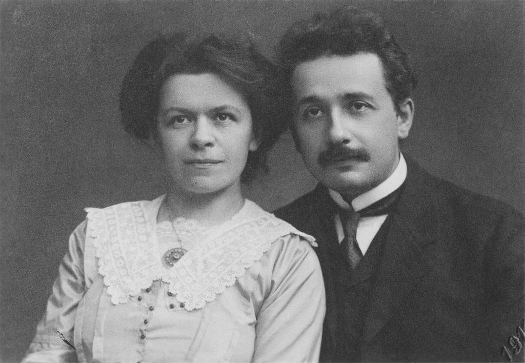 Albert Einstein a Mileva Marićová