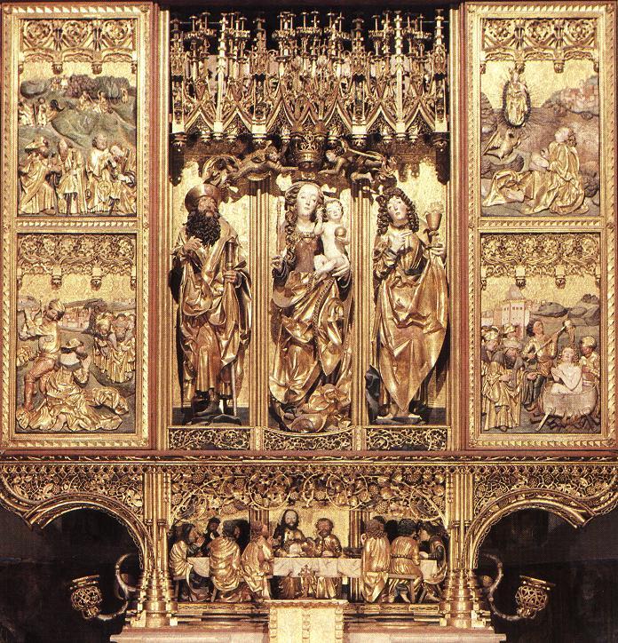Levočský oltár. by Lure