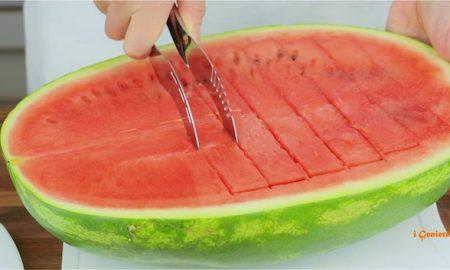 Ako perfektne a rýchlo narezať melón?