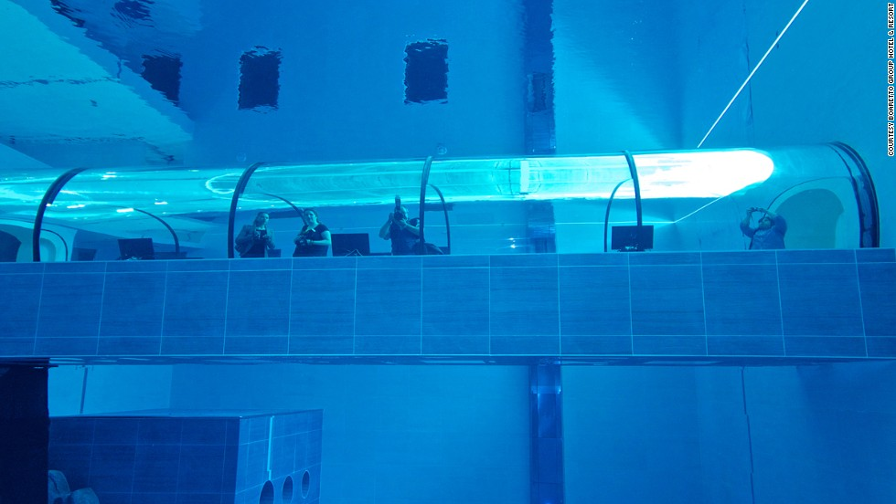 najhlbší bazén