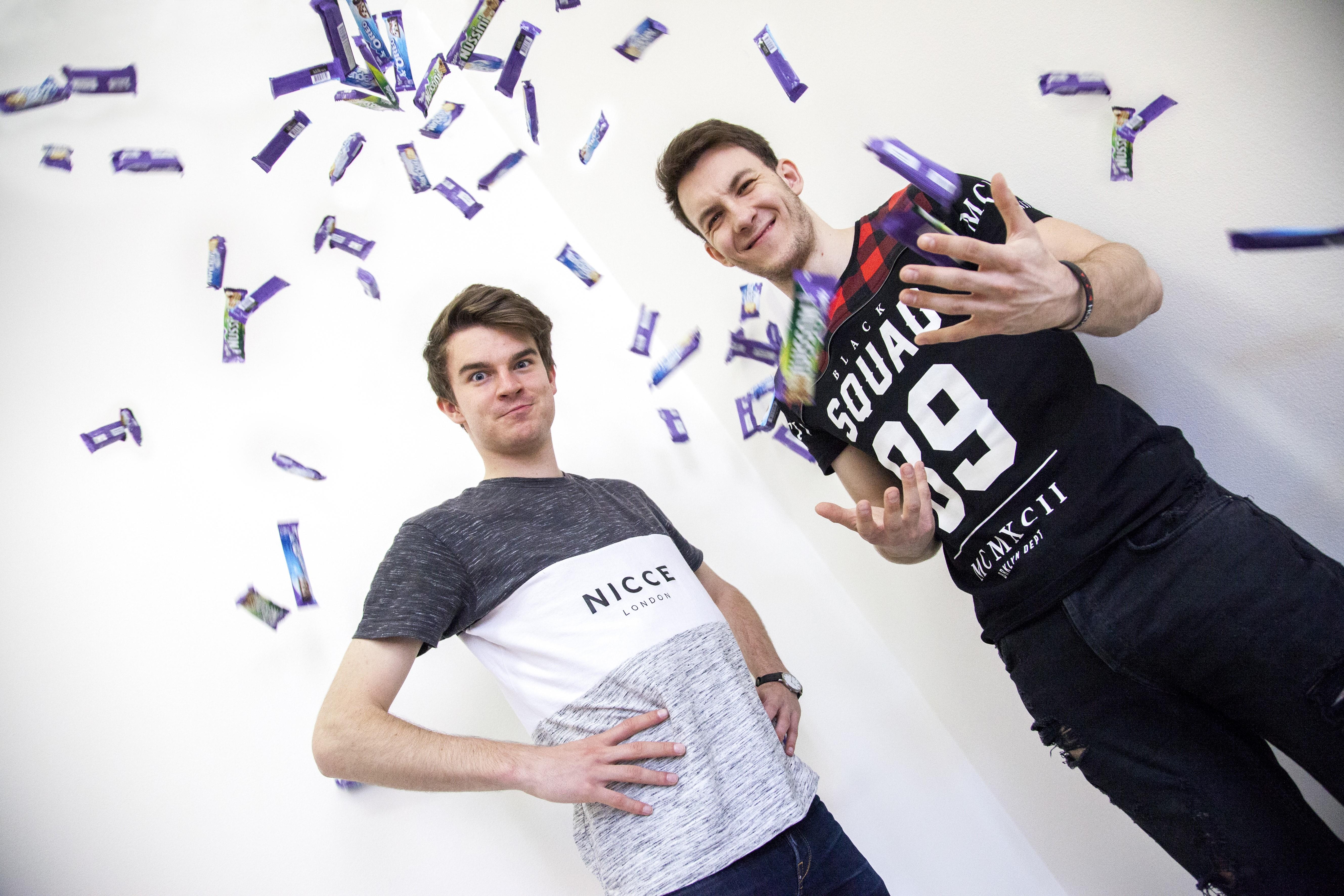 Youtuberi Kovy a HouseBox. Zdroj: Archív Milka