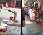 V Číne žena porodila na ulici a šla ďalej nakupovať