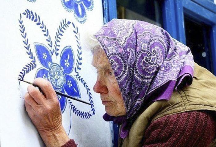 90-ročná babička