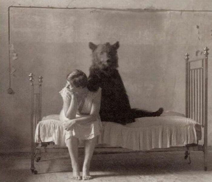 Bizarné staré fotografie