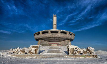 diabolsky vyzerajúce budovy