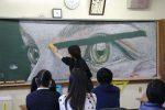 Dokonalé kriedové kresby, ktoré v školách vytvorili študenti