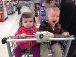 Nakupovanie s deťmi: Nesplniteľná misia