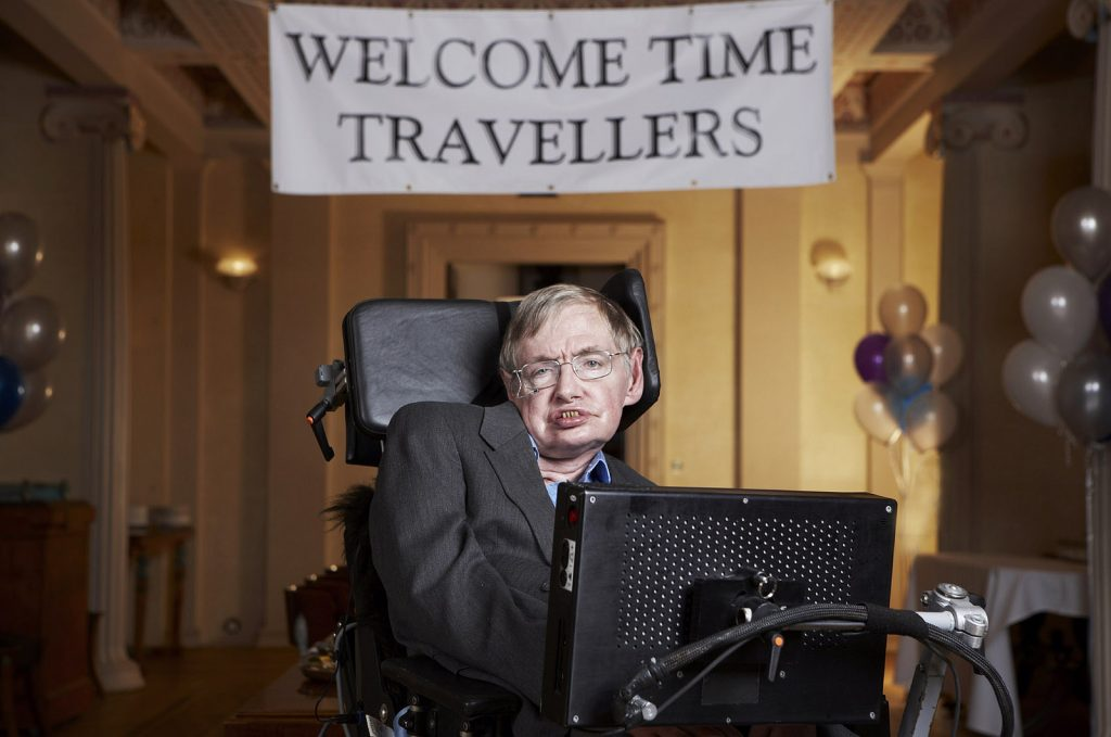 """Az univerzum, ahogy Stephen Hawking lát""(CC BY 2.0)bylwpkommunikacio"