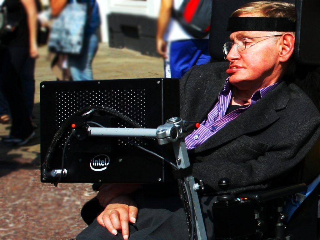 By Doug Wheller - originally posted to Flickr as Professor Stephen Hawking in Cambridge, CC BY 2.0, Link