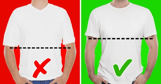 27a0b8857 Tričká, ktorých rukávy sú dlhé až po lakeť, nie sú vhodné ani pre raperov.  Oblečenie by ťa malo zdobiť. Keď pôjdeš nabudúce nakupovať, daj si pozor,  ...