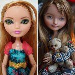 Ukrajinská umelkyňa ukazuje, ako by bábiky mali vyzerať v skutočnosti