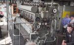 75-ročný dieselový motor z ponorky. Dokáže naštartovať na prvý pokus?