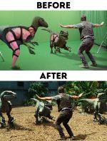 Špeciálne efekty vo filme: 32 záberov pred a po úprave