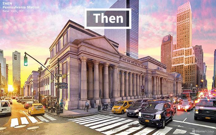 7 amerických budov, ktoré sú dnes už len minulosťou