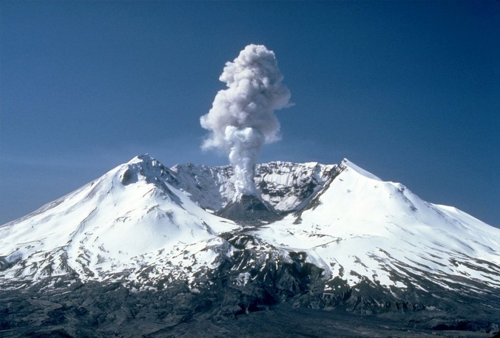 By Lyn Topinka - CVO Photo Archive Mount St. Helens, WashingtonBefore, During, and After 18 May 1980., Public Domain, Link