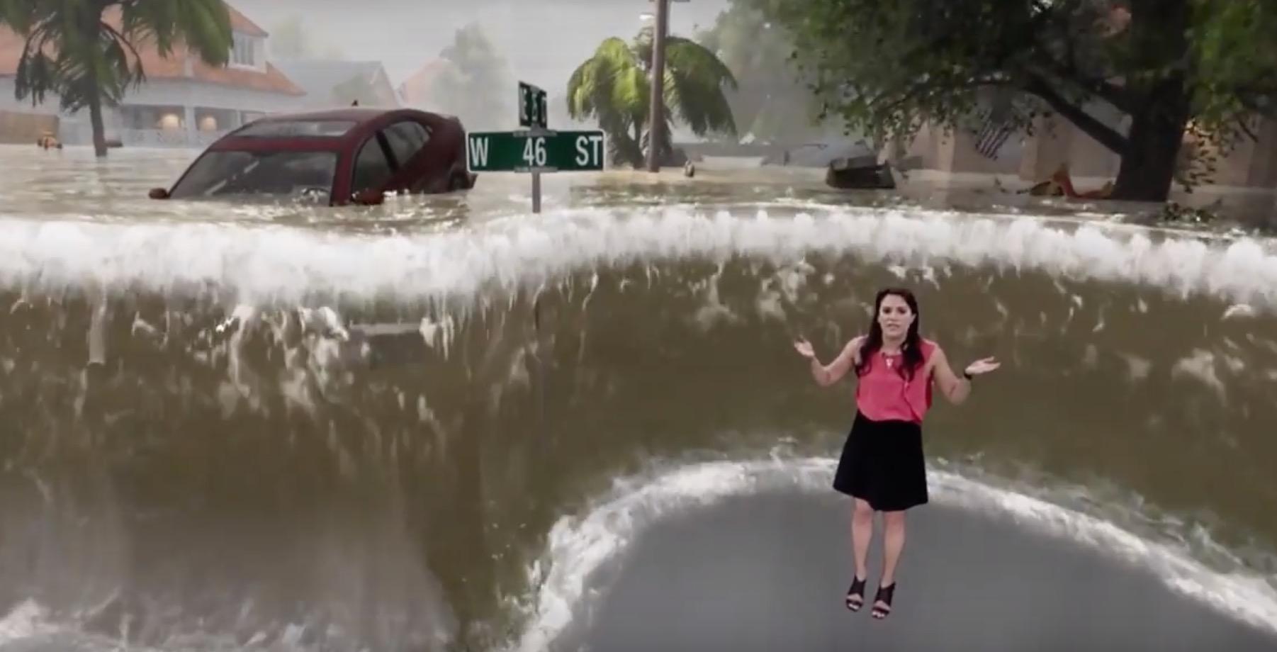 Predpoveď počasia novej generácie? Americká televízia straší divákov