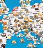 Veľká mapa jedla: Toto sú typické jedlá v krajinách sveta