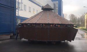 Bielorusi vyrobili tank podľa skíc Leonarda da Vinciho