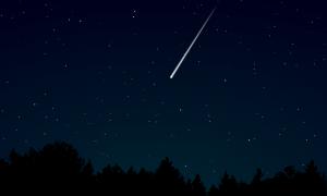 V Spojených štátoch sa podarilo natočiť pád meteoritu