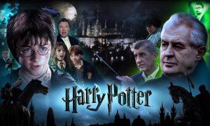 Ako by vyzeral Harry Potter v Čechách? Prahavice, Zeman a nechýba ani Putin