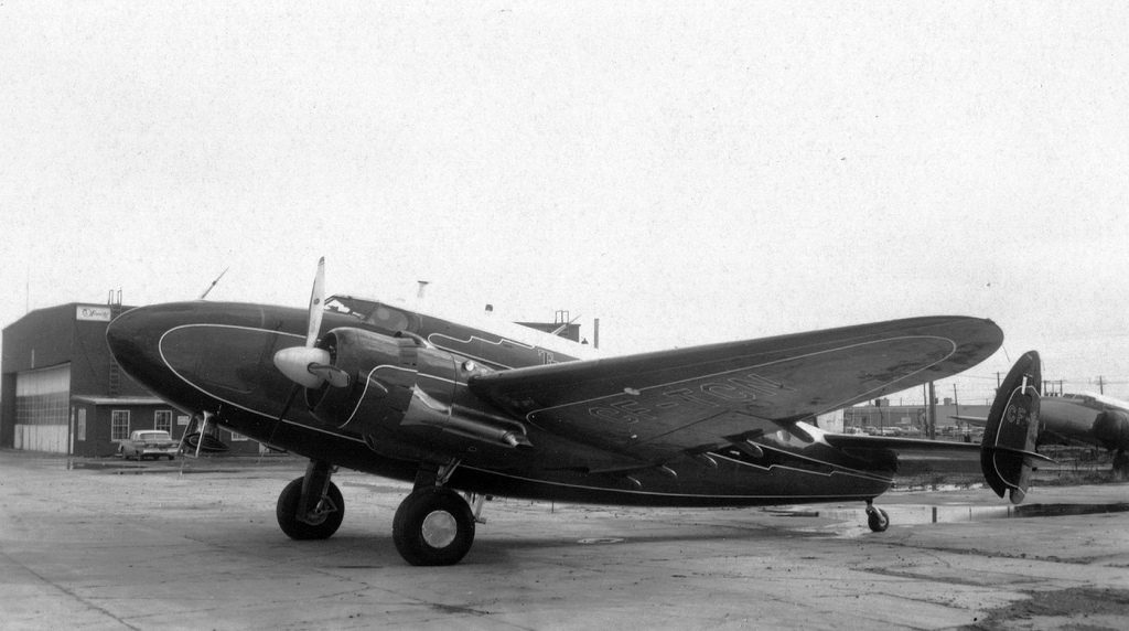 """""""Lockheed, Model 14-H2, Super Electra""""(Public Domain)bySan Diego Air & Space Museum Archives"""