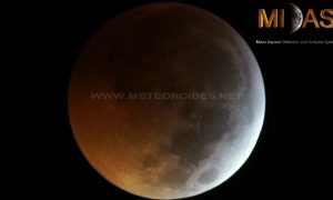 Do krvavého Mesiaca narazil meteorit. Pozrite si toto jedinečné video