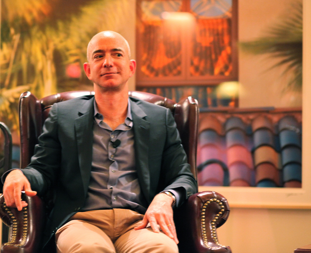 Jeff Bezos, najbohatší muž