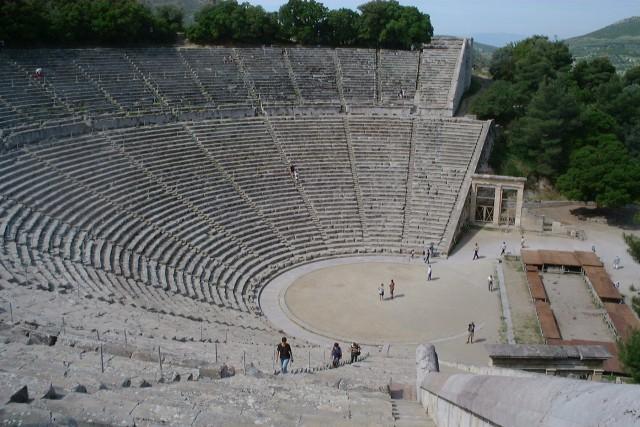 Epidauros: Úžasná akustika antického divadla udivuje aj dnes
