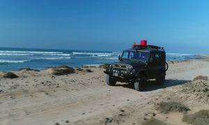V zaujímavej mexickej reklame sa objavil brutálny UAZ Hunter