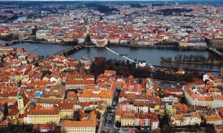 Praha z výšky