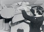 Takto cestovali deti lietadlom v 50. rokoch minulého storočia
