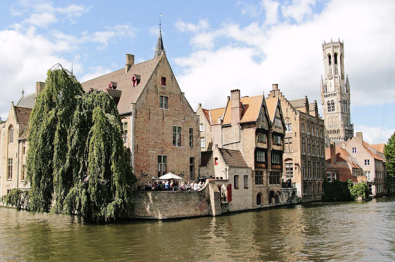 Belgické mesto Bruggy – významné hospodárske centrum Európy