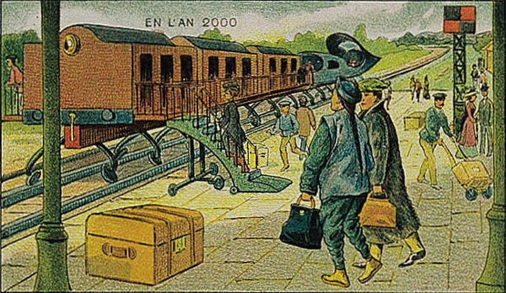 10 šialených ilustrácií, ktoré ukazujú, ako si ľudia predstavovali budúcnosť pred 100 rokmi