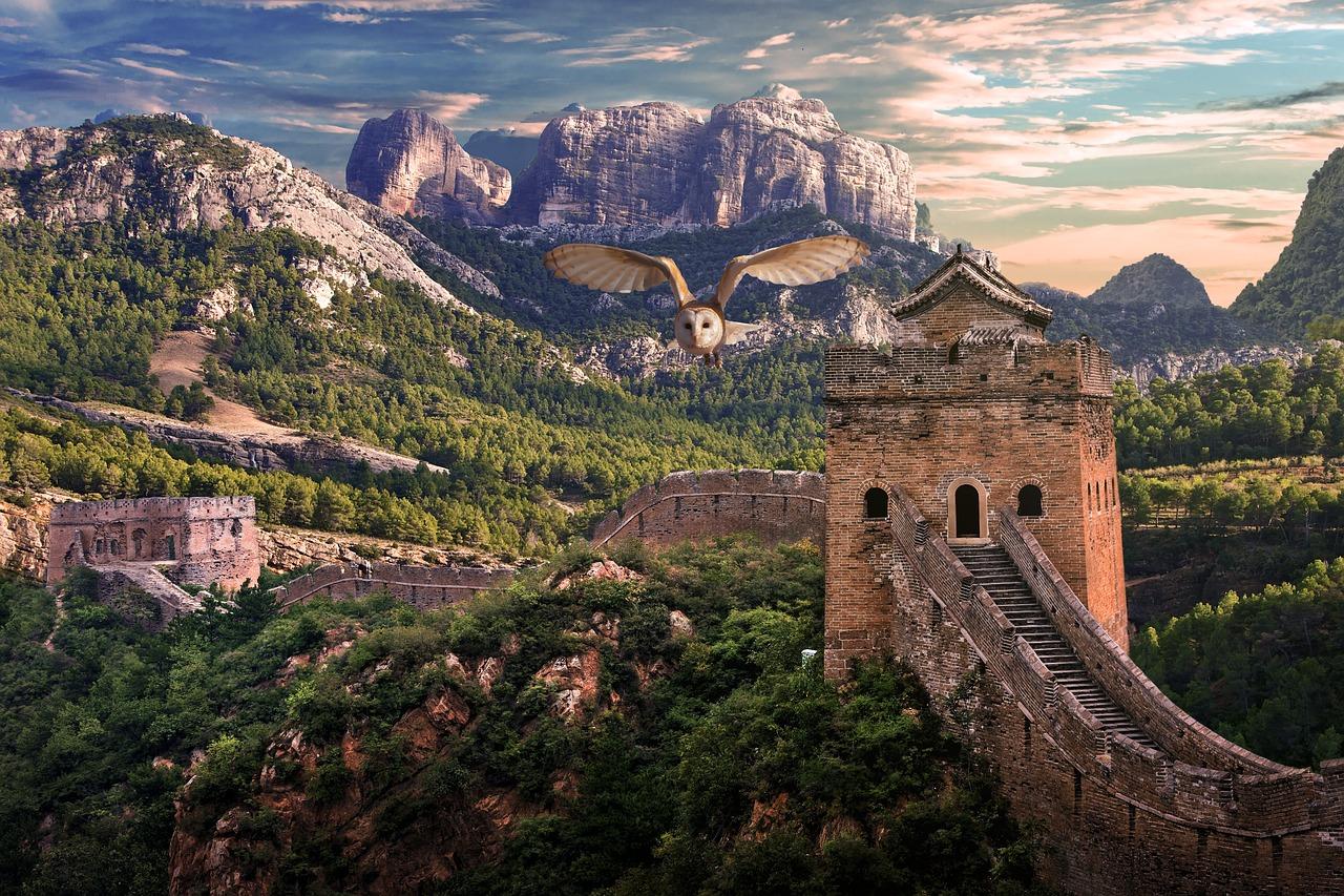 Veľký čínsky múr: Stavba, ktorú skutočne vidieť aj zvesmíru?