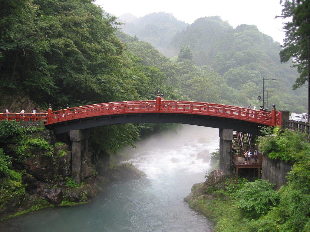 """Shinkyo (Sacred Bridge)""(CC BY 2.0)byPaul Mannix"