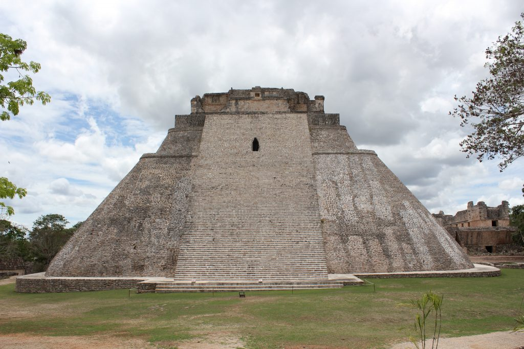 """Uxmal, Pyramid of the Magician"" (CC BY 2.0) by Arian Zwegers"