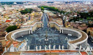 Štát vštáte – Vatikán