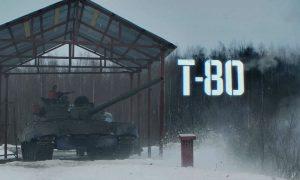 Ruský tank T-80 verzus drevená munícia. Šialený nápad alebo obyčajný test?