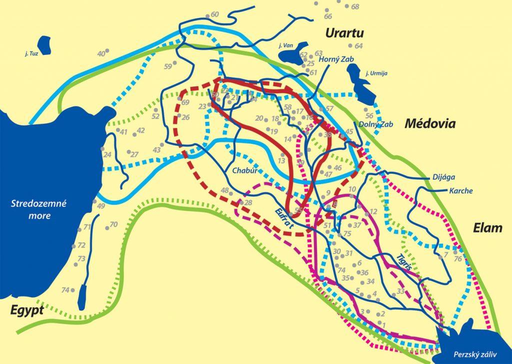 Mezopotámia: Legendárna oblasť s mimoriadne bohatou históriou